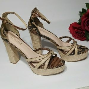 Shoe Dazzle  open toe shoes